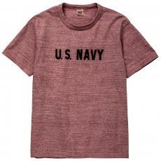 MILITARY RAYON COTTON TEE / U.S. NAVY