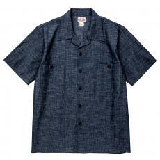 PRISONER OPEN COLLAR SHIRT S/S