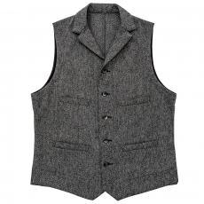 DOUBLE DIAMOND DOBBY CLOTH VEST