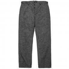 DOUBLE DIAMOND DOBBY CLOTH TROUSERS