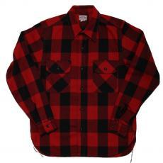 8HU BLOCK CHECK FLANNEL SHIRT