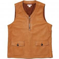 DOUBLE DIAMOND DEERSKIN PULLOVER VEST