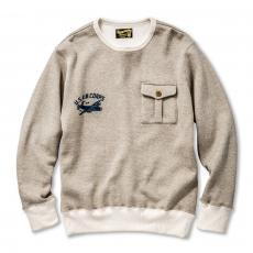 MILITARY POCKET SWEATSHIRT / USAC