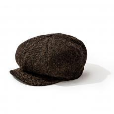 DOUBLE DIAMOND WOOL NEP NEWSBOY CAP