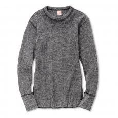 HEATHER WAFFLE THERMAL SHIRT L/S