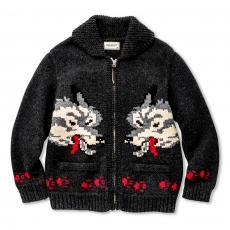 COWACHIN SWEATER / WOLF