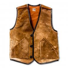 JM HAIR ON HIDE VEST