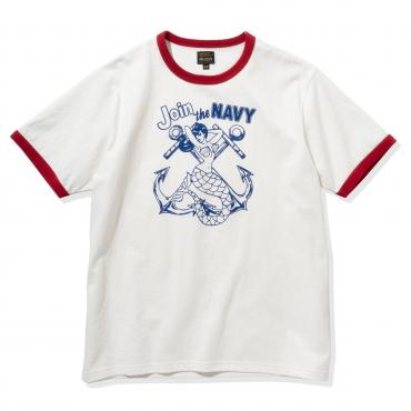MILITARY TEE / JOIN THE NAVY