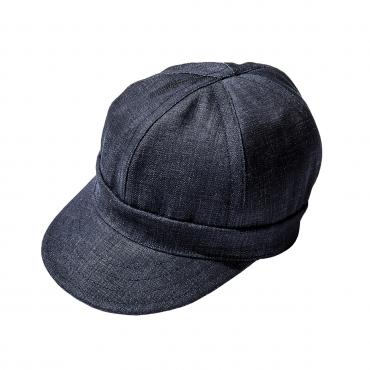 8HU DENIM ENGINEER CAP