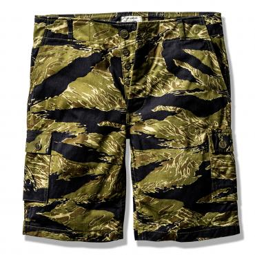 TIGER CAMOUFLAGE SHORTS / PURPLE FADE