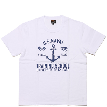 MILITARY TEE / U.S.N.TRAINING SCHOOL