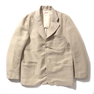 DOUBLE DIAMOND COTTON LINEN PANAMA JACKET
