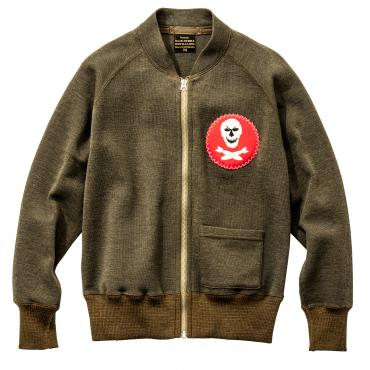 C-2 SWEATER / JOLLY ROGER