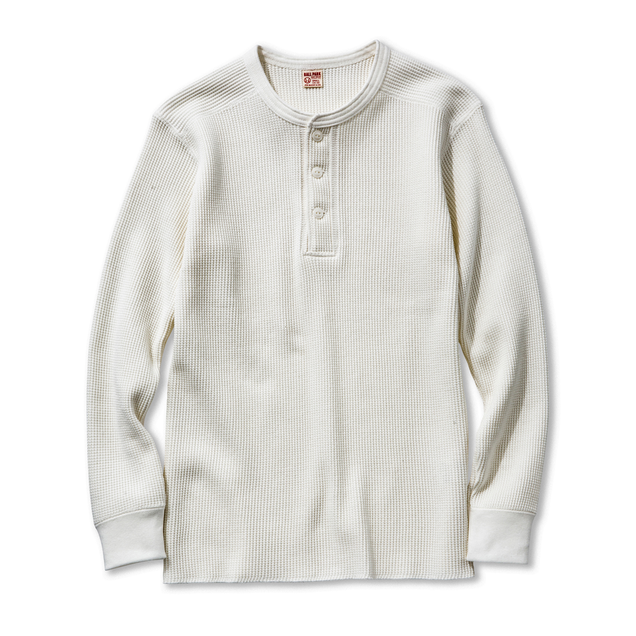 cdc6d01a THE REAL McCOY'S WEB CATALOG/商品詳細 WAFFLE HENLEY SHIRT L/S