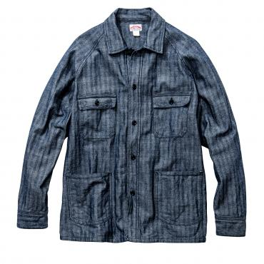 8HU GRAY HBT MECHANIC WORK SHIRT