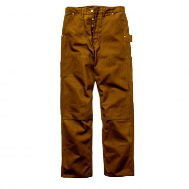 8HU BROWN CANVAS DOUBLE KNEE TROUSERS