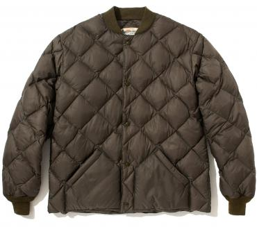 NYLON QUILTED DOWN JACKET