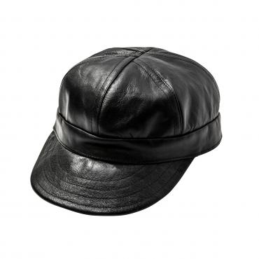 LEATHER WORK CAP