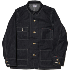 8HU DENIM CHORE JACKET