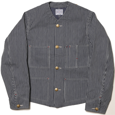8HU ENGINEER JACKET / HICKORY STRIPE