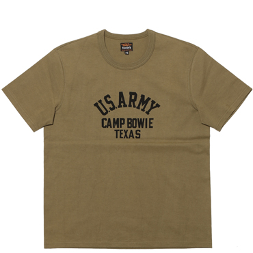 MILITARY TEE / CAMP BOWIE