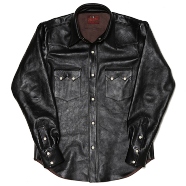HORSEHIDE LEATHER SHIRT