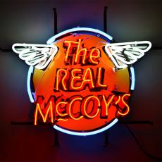 THE REAL McCOY'S NEON SIGN